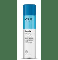 Essential Struccante Bifasico - Korff - 150ml - Struccante viso occhi labbra