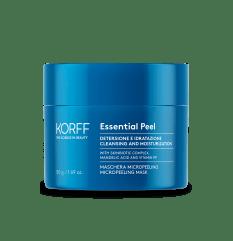 Essential Maschera Micropeeling - Korff - 50ml - Maschera stimolante per rigenerazione della pelle