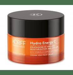 Hydra Energy C Crema Viso - Korff - 50ml - Crema giorno illuminante alla vitamina C