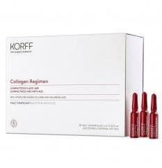 Collagen Regimen - Korff - 28 fiale tonificanti - Integratore alimentare di collagene marino e acido ialuronico