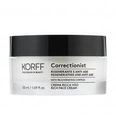 Correctionist Crema Ricca Viso - Korff - 50ml - crema viso idratante anti età per pelli secche e sensibili