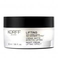 Crema Notte Effetto Lifting - Korff - 50ml - crema note con acido ialuronico per tutti i tipi di pelle