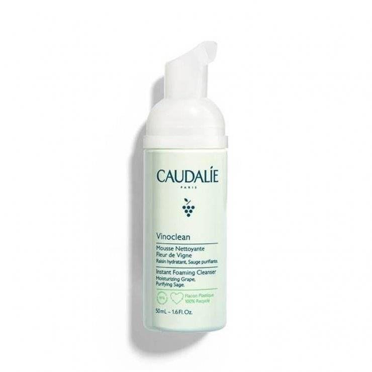 Caudalie Vinoclean Schiuma Detergente Viso 50 ml
