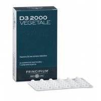 Principium D3 2000 - Vegetale - Bios Line - 60 compresse - integratore per ossa e denti