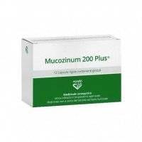 MUCOZINUM 200 PLUS 12CPS VANDA