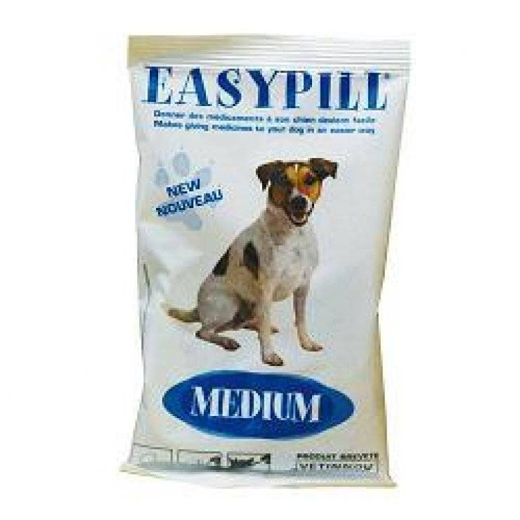 EASYPILL DOG MEDIUM SACCH 75G