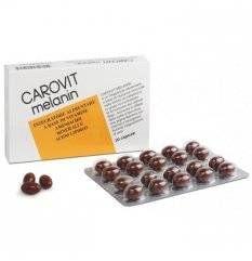 CAROVIT MELANIN S/BETACAR 20PR