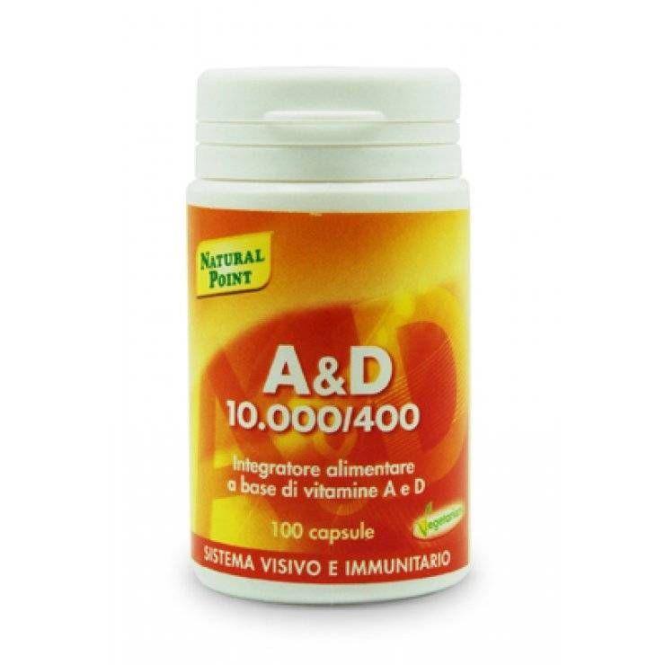 A&d 10000/400 100cps
