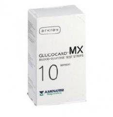 Glucocard Mx Blood Glucose10pz