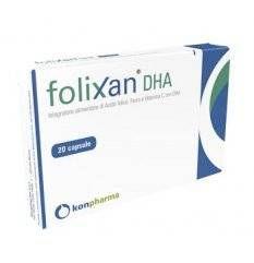FOLIXAN DHA 20CPS