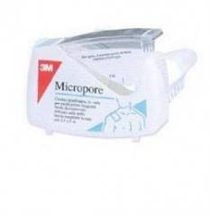 CER MICROPORE 1,25X500CM DISP