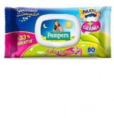 PAMPERS WIPES SOLE LUNA 120+40