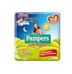 PAMPERS SOLE&LUNA MIDI 20PZ