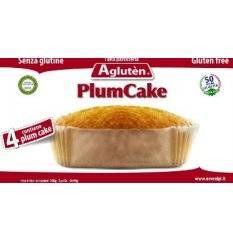 AGLUTEN PLUM CAKE 4X40G