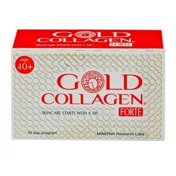 GOLD COLLAGEN FORTE 10FL