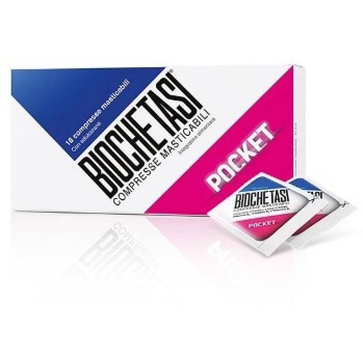 Biochetasi Pocket 18cpr Mastic