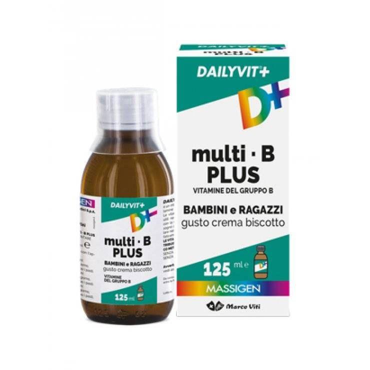 DAILYVIT+ MULTI B PLUS 125ML