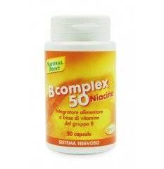 B Complex 50 Niacina 50cps