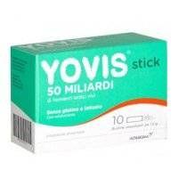Yovis stick - Alfasigma - 10 bustine - integratore alimentare di fermenti lattici