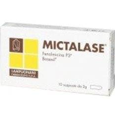 MICTALASE 10SUPPOSTE 2G