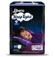 LIBERO SLEEPTIGHT 9 14PEZZI