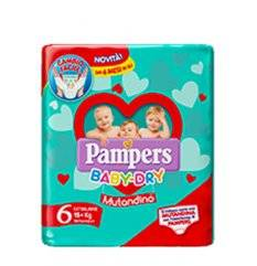 PAMPERS BD MUT SM TG6 EXL SP14