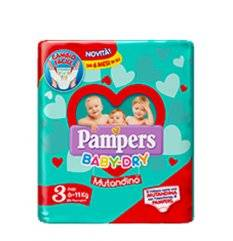 PAMPERS BD MUT MIDI SP 19PZ