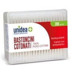 UNIDEA BASTONCINI COT 200PZ