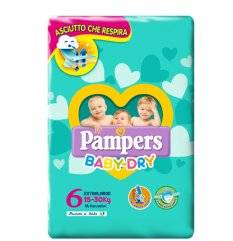 PAMPERS BABY DRY DWCT XL 14PZ