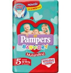 PAMPERS BD MUT JUNIOR SP 14PZ