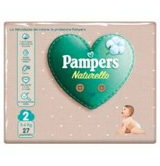 PAMPERS NATUR MINI CP 27PZ
