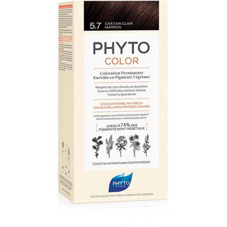 PHYTOCOLOR 5,7 CASTANO CHI TAB