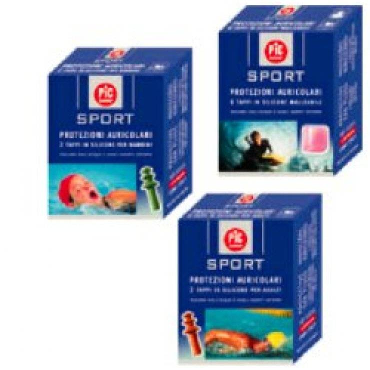 PIC SPORT TAPPO AURIC SIL 2PZ