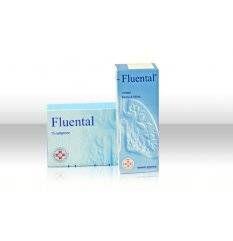 FLUENTAL SCIR 150ML 12,8+8MG/M