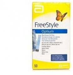 Freestyle Optium Test Strips50