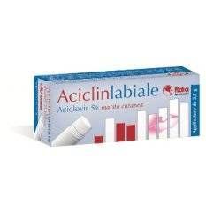 ACICLINLABIALE MATITA 2,5G 5%