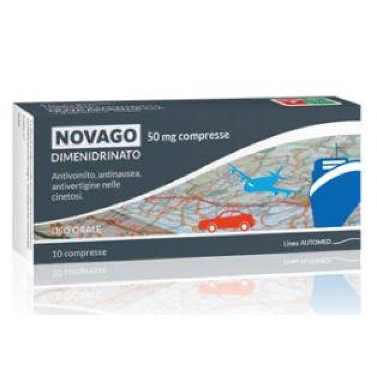 NOVAGO 10CPR 50MG