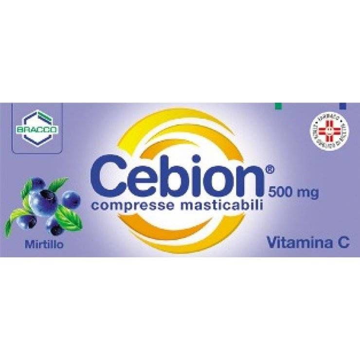 CEBION 500 20CPR MAST MIRTILLO