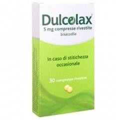 DULCOLAX 30CPR RIV 5MG