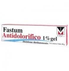 FASTUM ANTIDOLORIFICO 1% 50G