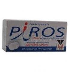 PIROS 10CPR EFF 500MG