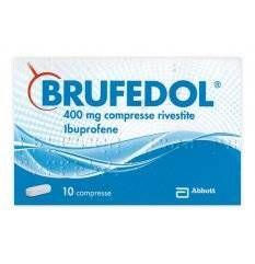 BRUFEDOL 10CPR RIV 400MG