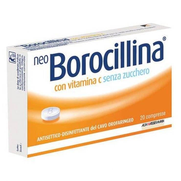NEOBOROCILLINA C 20PAST S/Z