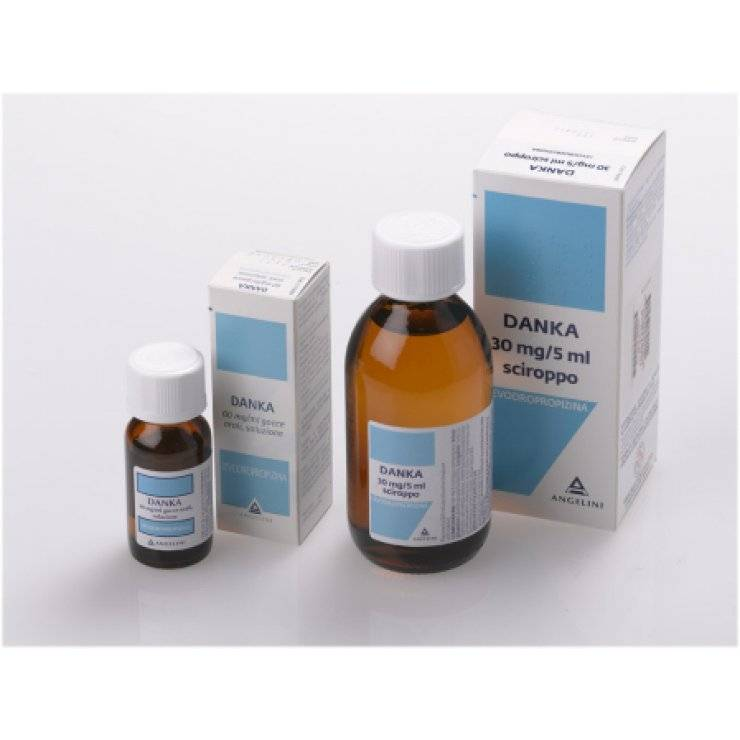 DANKA SCIR FL 200ML 30MG/5ML