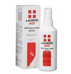 AMUKINE MED SPR CUT 200ML0,05%