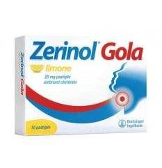 ZERINOL GOLA LIMO 18PAST 20MG