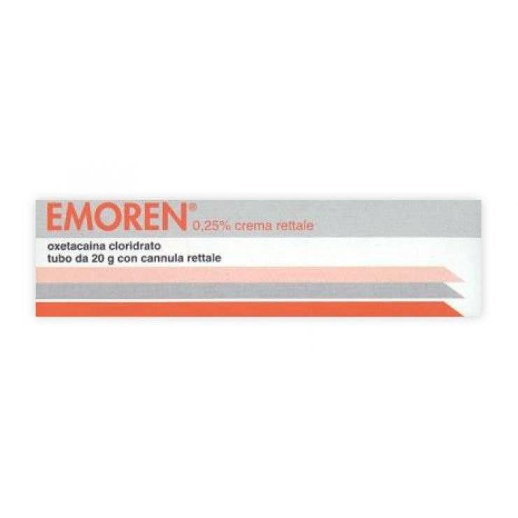 EMOREN RETT CREMA 20G 0,25%