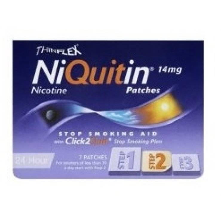 NIQUITIN 7CER TRANSD 14MG/24H