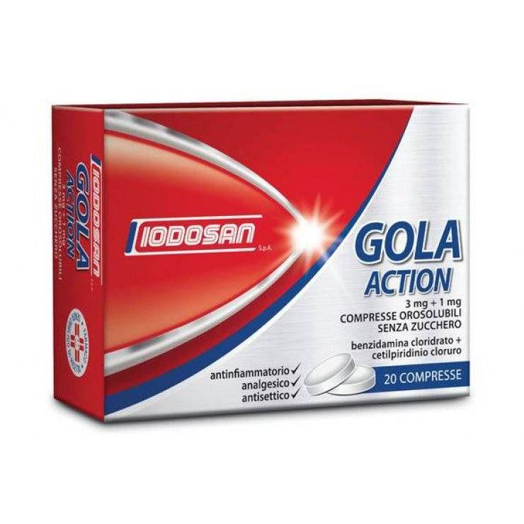 GOLA ACTION 20CPR OROS 3MG+1MG