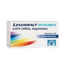 LEVOREACT OFTA COLL 4ML 0,5MG/